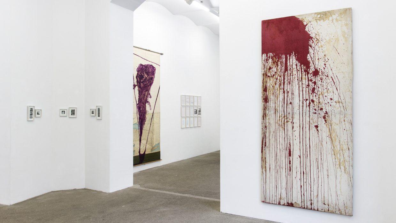 Ausstellungsansicht | Galerie Elisabeth & Klaus Thoman, Foto: Lena Kienzer