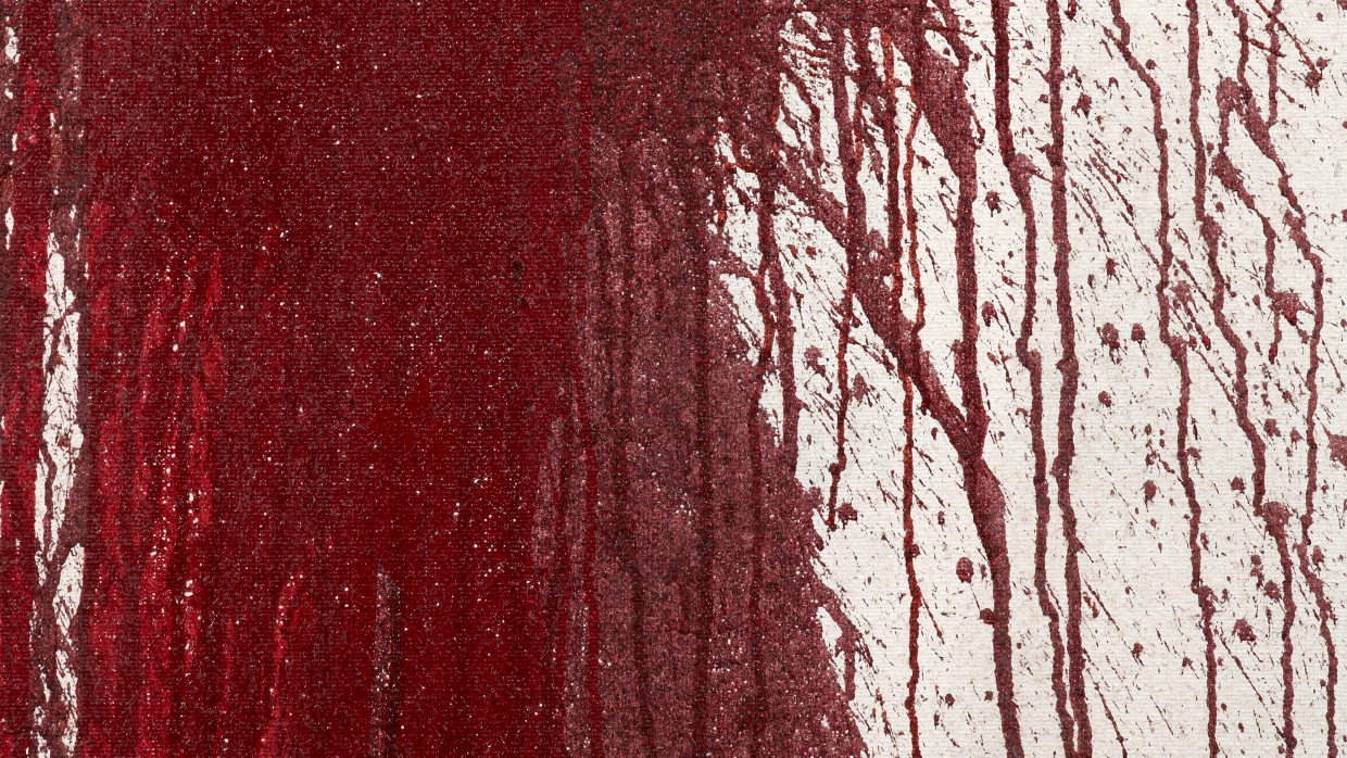 Detail |Hermann Nitsch, action painting, 2012