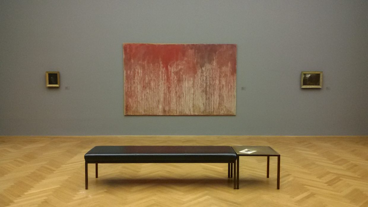 Exhibition view | Hermann Nitsch, Kreuzwegstation | Albertinum, Desden