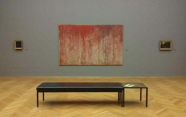 Exhibition view |Hermann Nitsch, Kreuzwegstation |Albertinum, Desden