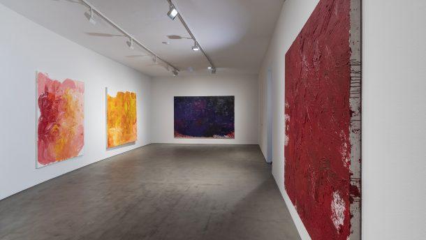 Ausstellungsansicht | @Galerie Jahn Pfefferle, München | Foto: Harry Zdera
