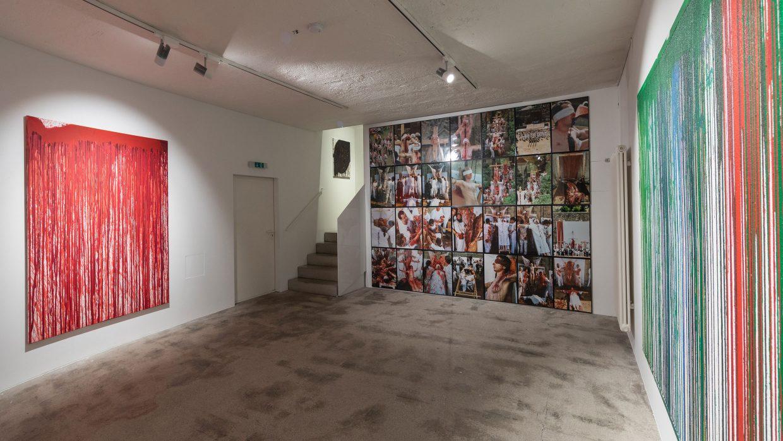 Ausstellungsansicht   @Galerie Jahn Pfefferle, München   Foto: Harry Zdera