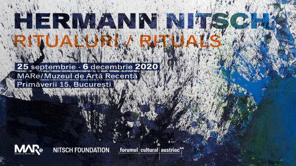 Hermann Nitsch Ausstellungssujet Mare Bukarest