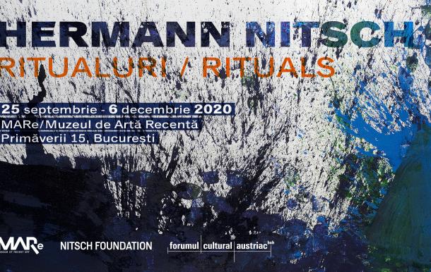 Hermann Nitsch Rituali | Exhibition |MARe Bucharest
