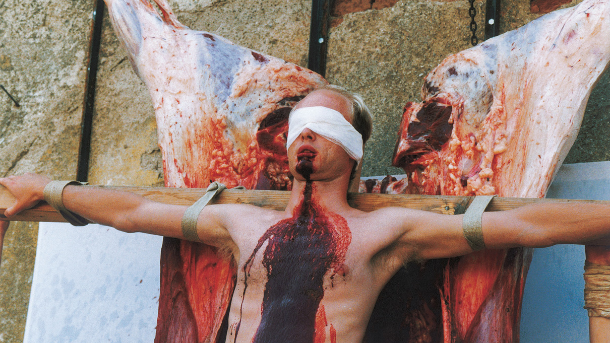 Hermann Nitsch | 100. action | the 6-day-play | 1998 | Photo: Archiv Cibulka-Frey