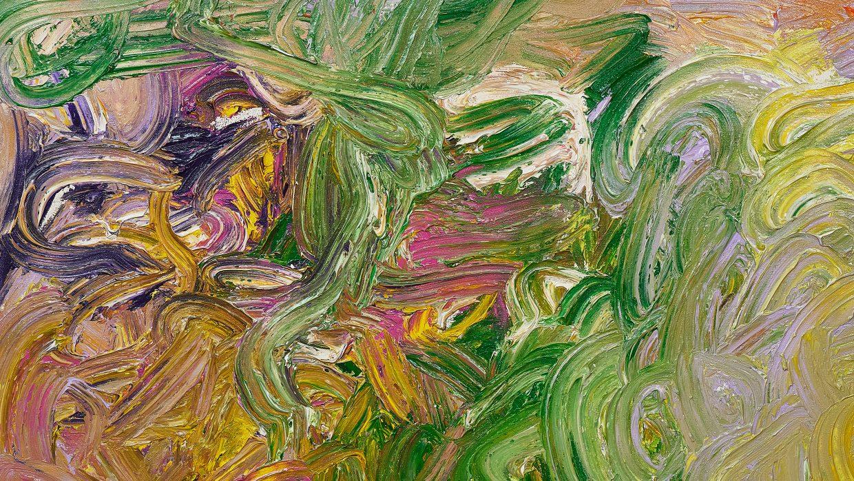 Hermann Nitsch |Schüttbild aus 86. Malaktion (Detail) | 2020