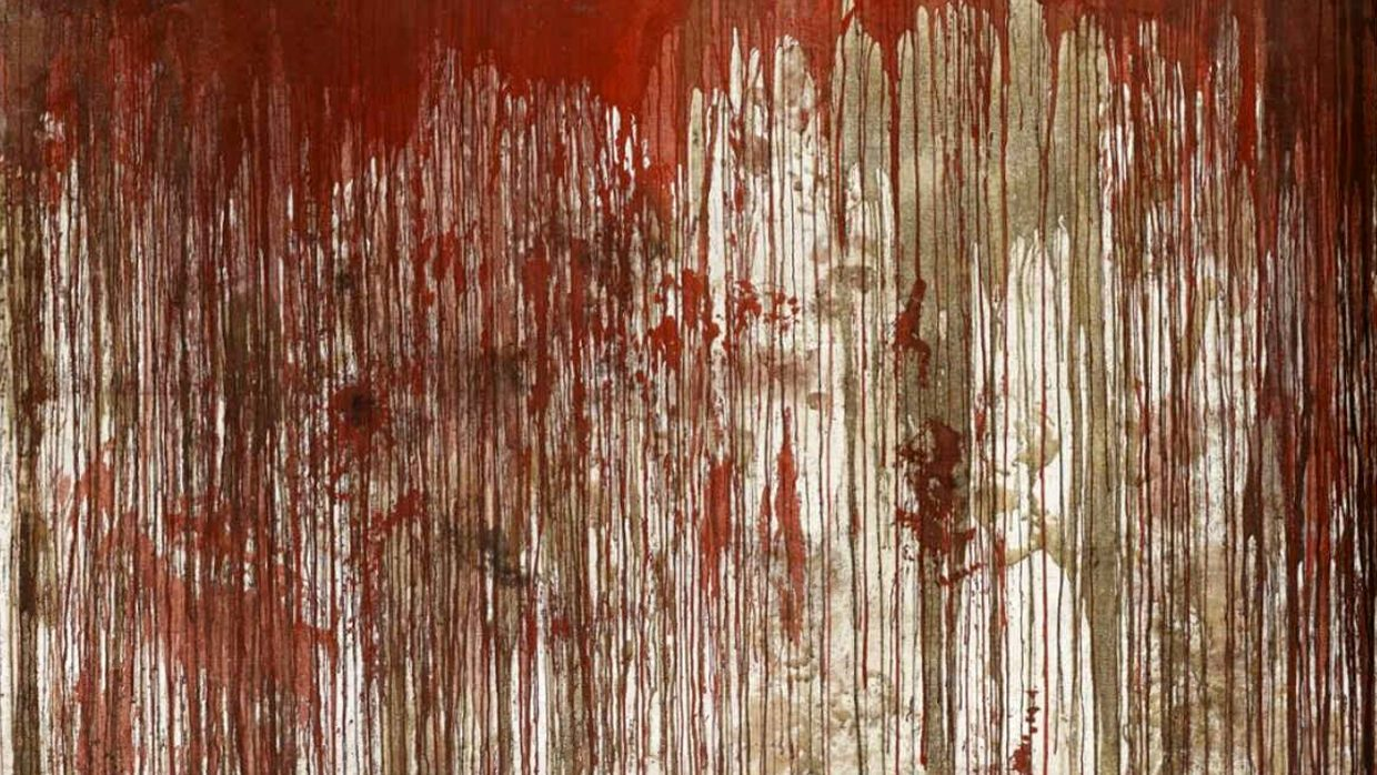 Hermann Nitsch | action painting | 1963 | Staatsgalerie Stuttgart Collection