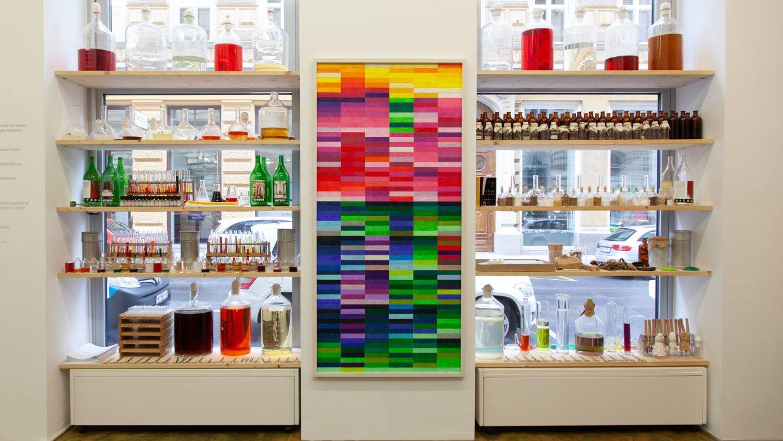 "Installation ""Pharmacy of tastes and smells"" | Photo: Janina Lenz"
