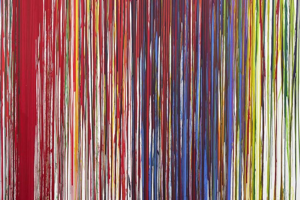 Hermann Nitsch | action painting (detail) | 2021