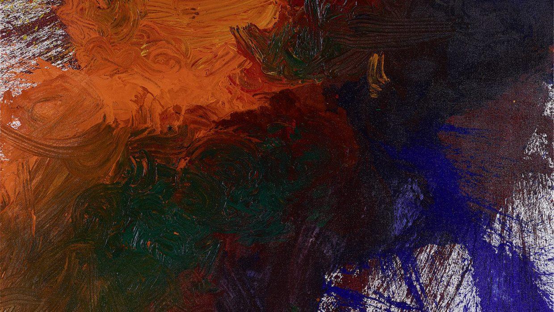 Hermann Nitsch | Schüttbild